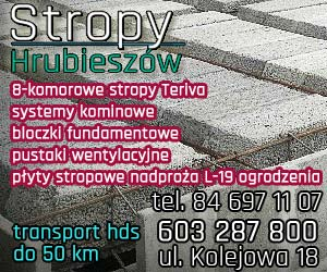 Stropy Hrubieszów