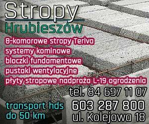 Stropy Hrubieszów