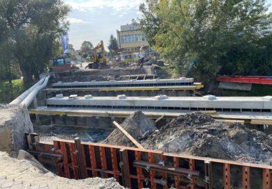 Hrubieszów: Prace przy remoncie mostu na Ludnej – ZDJĘCIA