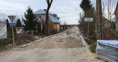 Hrubieszów: Budowa ulicy Diamentowej – ZDJĘCIA