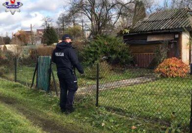 Hrubieszowscy policjanci sprawdzają miejsca, w których przebywają osoby bezdomne i potrzebujące pomocy