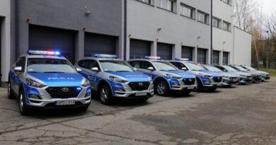 Nowe radiowozy dla policjantów z Lubelszczyzny – ZDJĘCIA, WIDEO