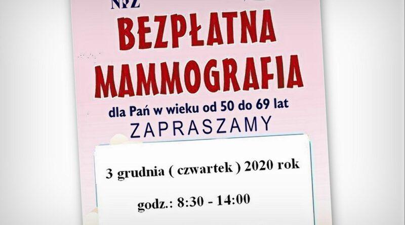 Hrubieszów: Zapraszamy na bezpłatne badania mammograficzne