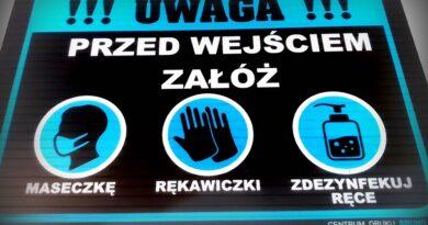 Duży wzrost – 24 nowe przypadki koronawirusa w powiecie hrubieszowskim. W kraju prawie 15 tys.
