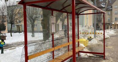 Hrubieszów: Zdewastowany przystanek na Partyzantów – ZDJECIA