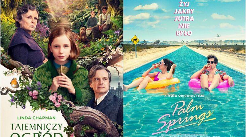 Kino Plon zaprasza na filmy: Tajemniczy ogród, Palm Springs – WIDEO