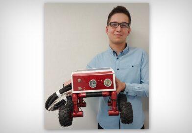Hrubieszowianin skonstruował robota dla Straży Pożarnej – ZDJĘCIA