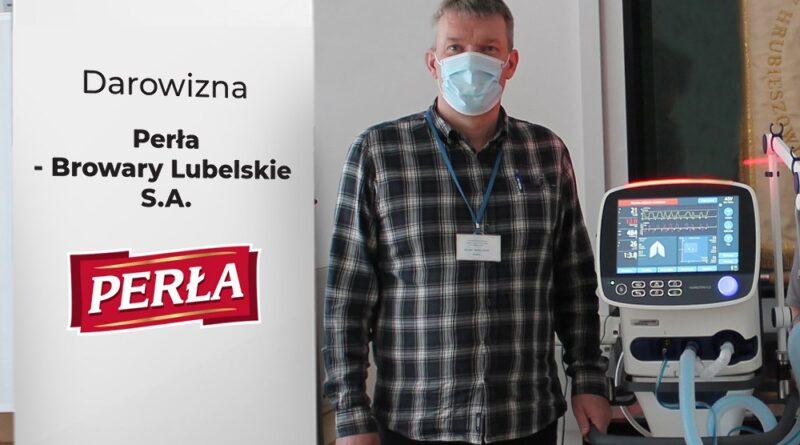 Nowy respirator trafił do hrubieszowskiego szpitala