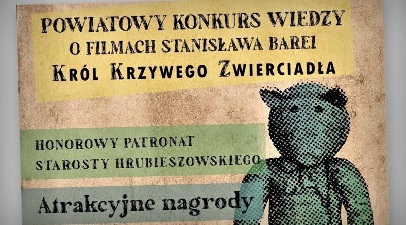 Hrubieszów: Konkurs wiedzy o filmach Stanisława Barei rozstrzygnięty