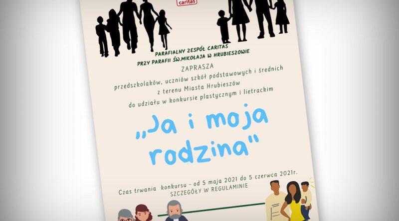 Ja i moja rodzina – konkurs plastyczny i literacki hrubieszowskiego Caritas