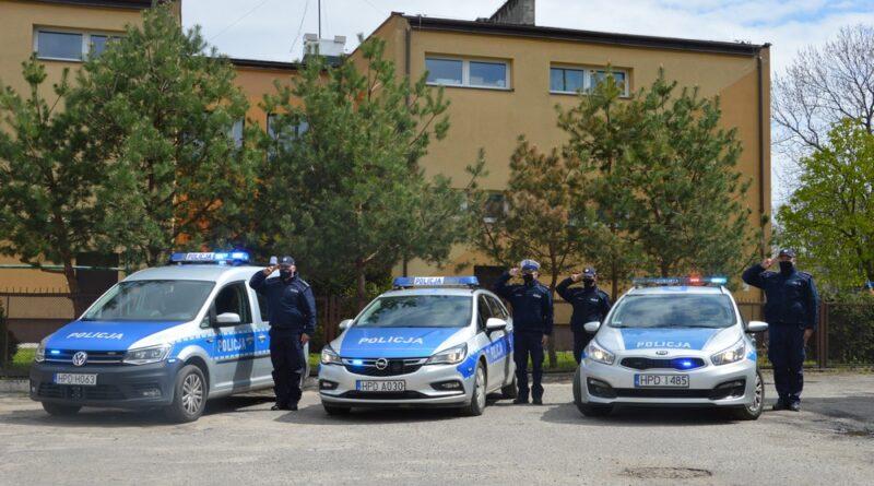 Hrubieszowscy policjanci pożegnali tragicznie zmarłego asp. Michała Kędzierskiego – ZDJĘCIA, WIDEO