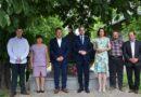 Wizyta ministra w gminie Trzeszczany – ZDJĘCIA