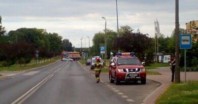 Werbkowice: Uszkodzony gazociąg – ewakuowano 60 osób, zamknięto drogi – ZDJĘCIA
