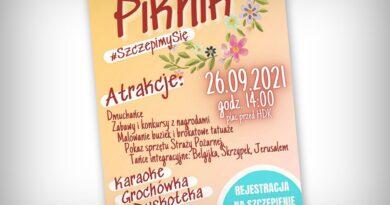 Hrubieszów: Piknik #SzczepimySię