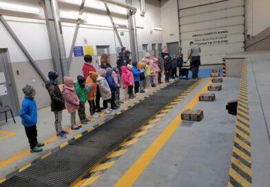 Przedszkolaki z Piątki na przejściu granicznym w Zosinie (ZDJĘCIA)
